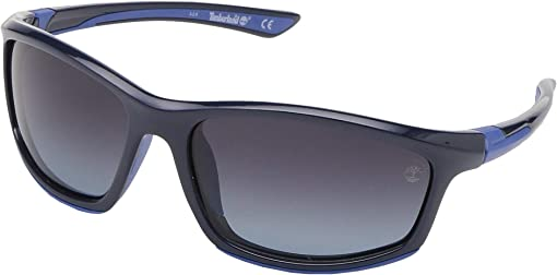 Shiny Blue/Smoke Polarized