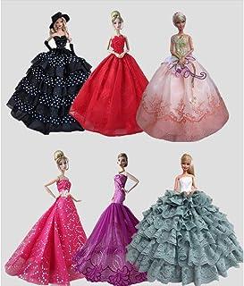 a40eba1f52c 6 unidades Princesa xuba tul para ropa Maniquí boda 30 cm niña accesorio  para muñecas Niños