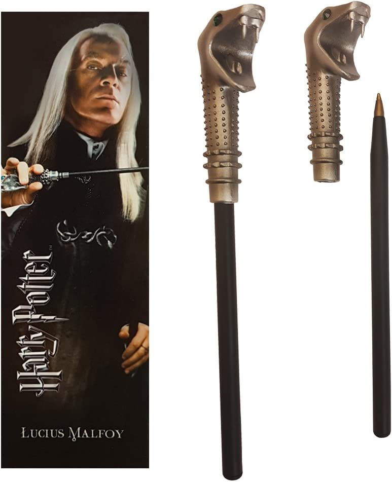 The Noble Collection Harry Potter Lucius and Pen Wand Opening large release sale Malfoy Ranking TOP3 Boo