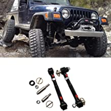 "Front Swaybar Quicker Disconnect System Adjustable Fits Jeep Wrangler JK JKU 2007-2018 Replace 2034, With 2.5"" - 6"" Lift Not for Original Sway Bars"