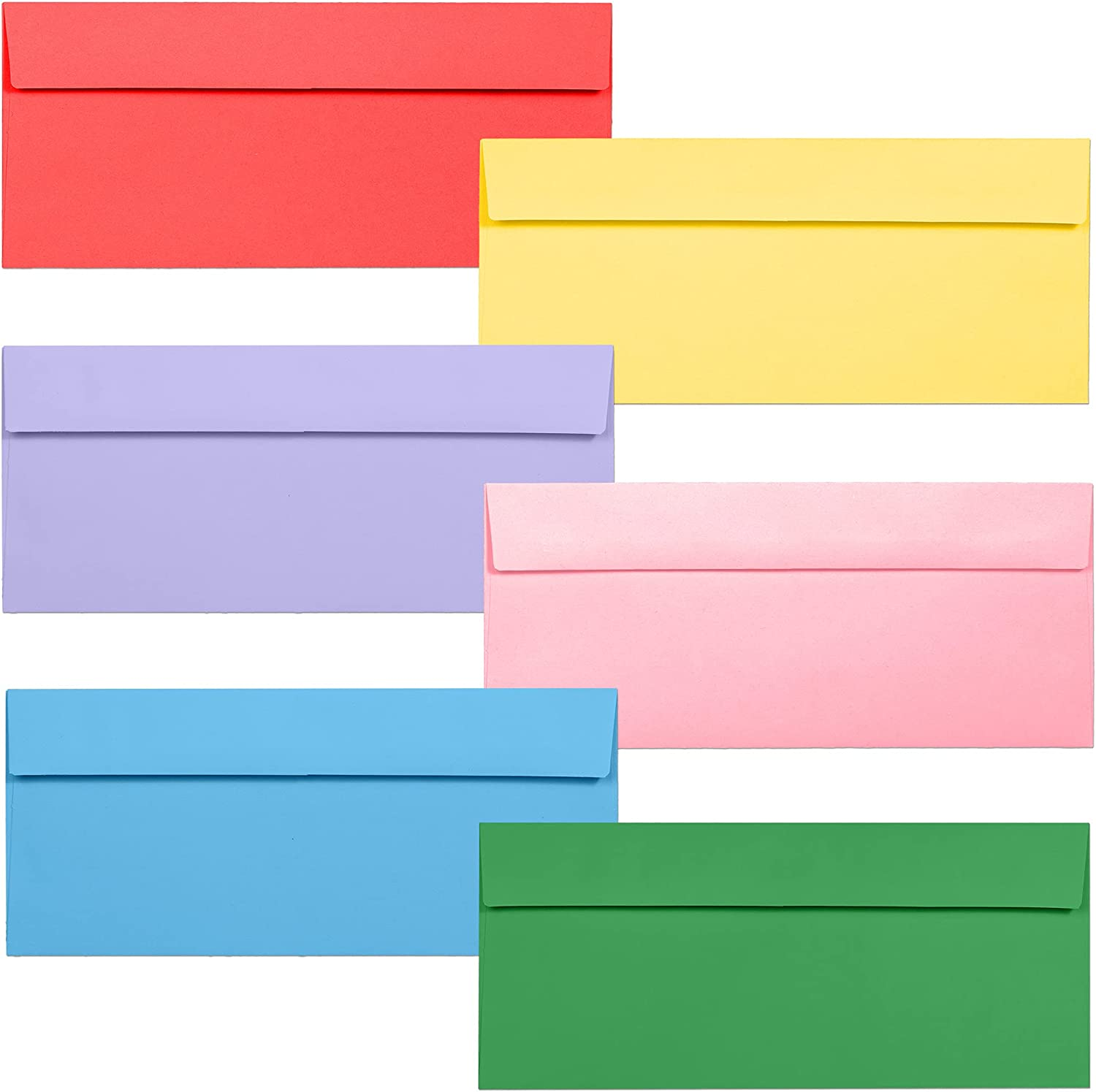 New product Business Envelopes 120-Pack #10 4 1 Inches OFFicial shop x 8 2 9