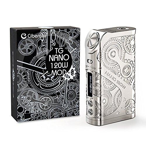 Ciberate® TG Nano 120W E Zigarette/E shisha Akkuträger, Box Mod...