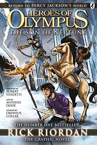 The Son of Neptune: The Graphic Novel (Heroes of Olympus Book 2) (English Edition)