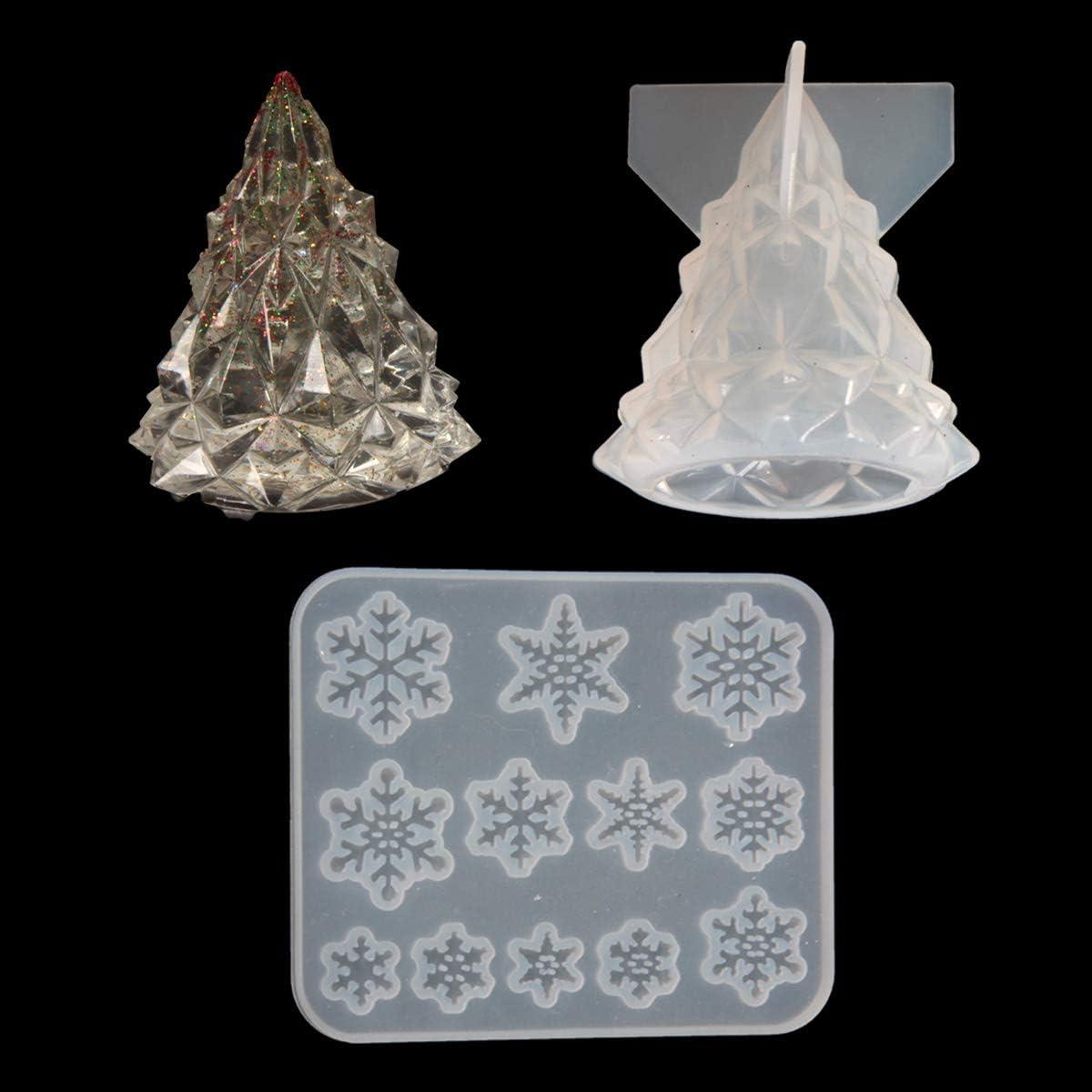 yalansmaiP Christmas Tree Resin Epoxy Finally popular brand Shaped 2021 spring and summer new Mold