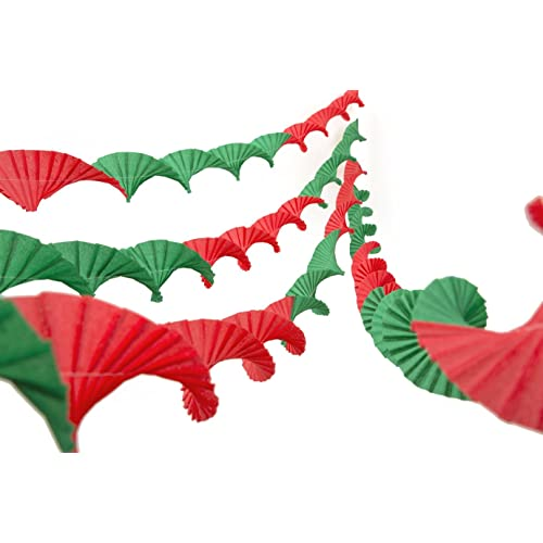 Crepe Paper Christmas Decorations Amazon Co Uk