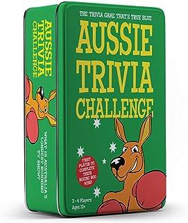 University Games FF003 Aussie Trivia Challenge Tin Card Game