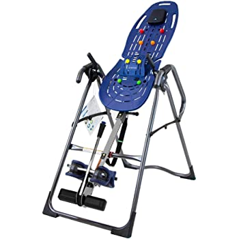 Teeter EP-970 Ltd. Inversion Table, Deluxe Easy-to-Reach Ankle Lock, Back Pain Relief Kit, FDA-Registered
