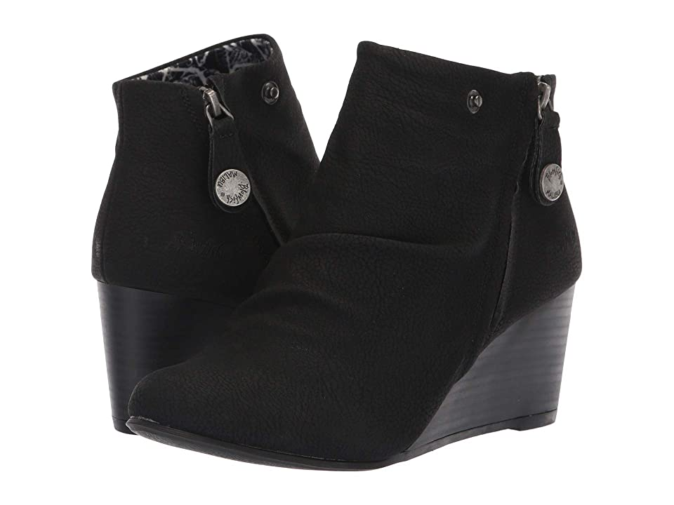Blowfish Berkeley (Black Saddlerock PU) Women