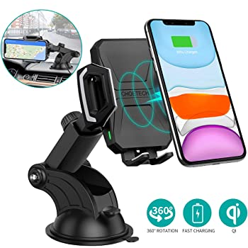 OUYAWEI Universal 360 Degree Adjustable Air Vent Phone Holder Flexible Mobile Phone Stand Black