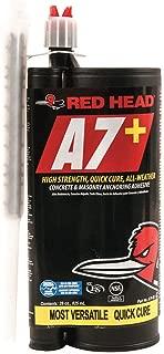 Anchoring Adhesive, Cartridge, 28 oz. Size