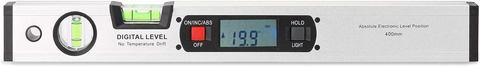 yongke 400mm transferidor digital angle Finder eletrônico nível 360 graus inclinômetro com ímãs nível ângulo declive testa...