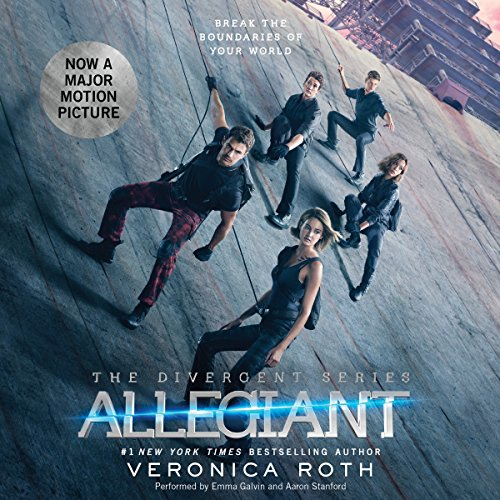 Allegiant audiobook cover art