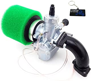 STONEDER 26 mm Molkt Vergaser Luftfilter Ansaugrohr Set für Lifan YX 125 cc 140 cc 150 cc Pit Dirt Bike
