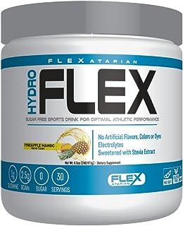 Flexatarian Hydro Flex, Natural Hydration Powder with BCAAs, Pineapple Mango, 30 Servings