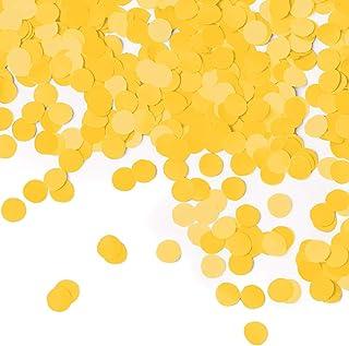 قصاصات ورقية دائرية من كرياتيف كونفيرتينغ، 0.5 اونصة، لون اصفر باص المدرسة