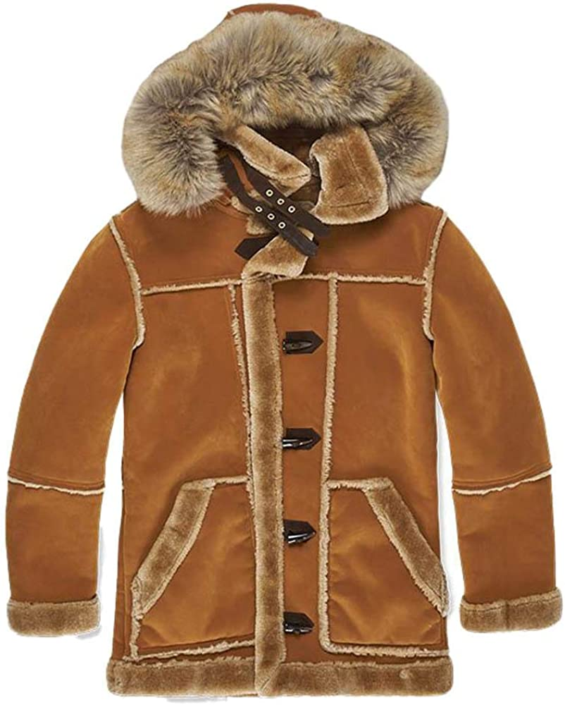 Jordan Craig Denali Shearling Jacket Jacket Cognac