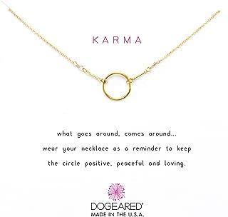 Women's Karma Necklace 16 inch