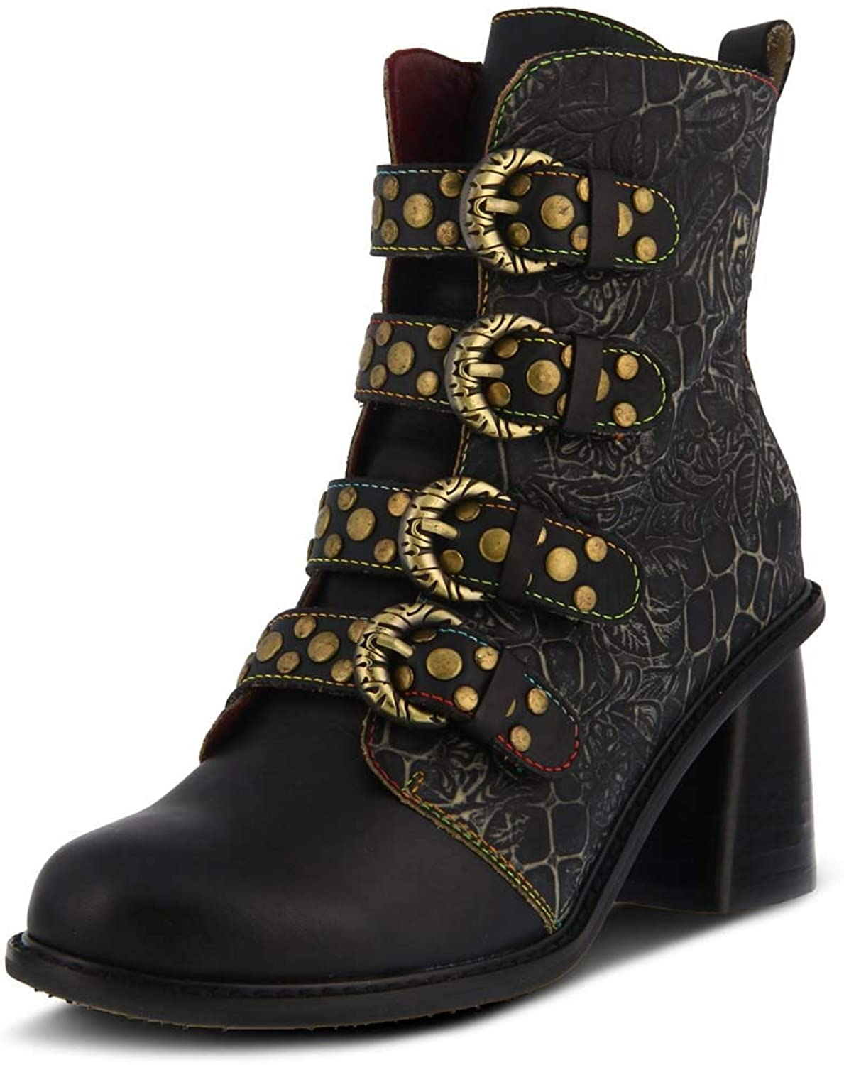 L`Artiste by Spring Step Women's Leather Boots Wonderland