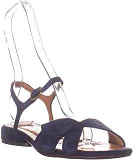 CHIE MIHARA Vonsai Flat Ankle Strap Sandals, Ante Nuit
