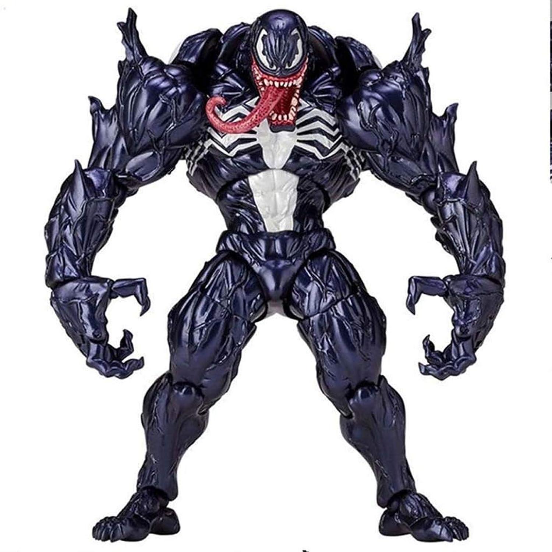 Esperando por ti LSXUE Juguete Venom Movie Character -Acción -Acción -Acción Statue Model  forma única