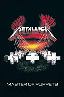 E Metallica Master of Puppets Heavy Metal Rock Music Poster 24 x 36 inches (24X36 UNFRAMED Poster)