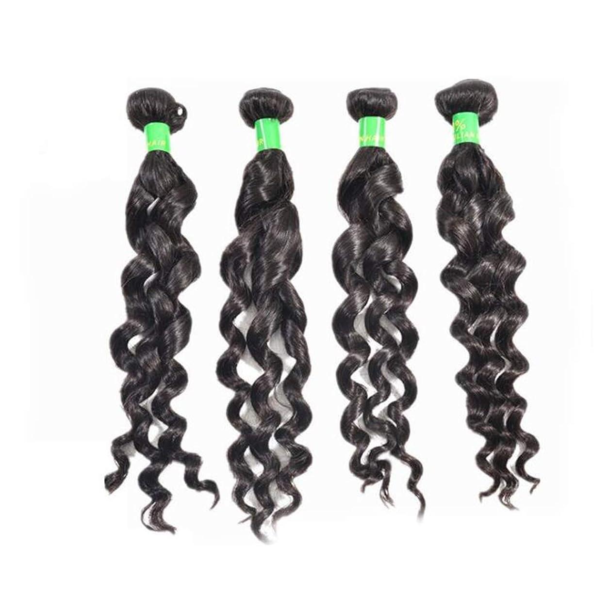 収まる算術光かつらレースフロントロングウェーブ合成耐熱繊維水ウェーブヘアかつら女性のための赤ちゃんの髪
