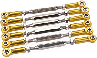 Candybarbar 105mm Ajustable al Aceite 80mm 90mm 100mm Amortiguador de Amortiguador de Resorte de Metal para 1//10 RC Racing HSP Redcat Hongnor HPI Hobao Truck