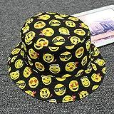 Yunbai Sombrero del sombrero del cubo Pescador sombrero del algodón del sombrero al aire libre Mujer Cap de pesca deportiva sombrero del sol del sombrero de Hip Hop cuenca del sombrero del visera, som