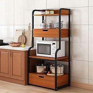 Rangement Cuisine Organisateur étagère Accueil Organisateur Poste de travail étagère de cuisine Baker Rack Utility Storage...