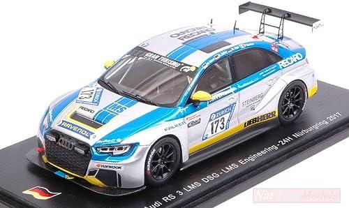 moda Spark Model SG305 SG305 SG305 Audi RS3 LMS N.173 Nurburgring 2017 Andree-Jager-WASEL 1 43 Compatible con  Vuelta de 10 dias