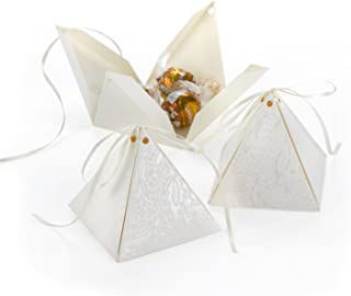 Hortense B. Hewitt 25-Count Lace Shimmers Favor Boxes