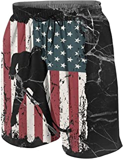 MAOYI/&J6 French Bulldog USA Flag Long Sweatpants Teenager Boys Girls Jogger Pants with Drawstring
