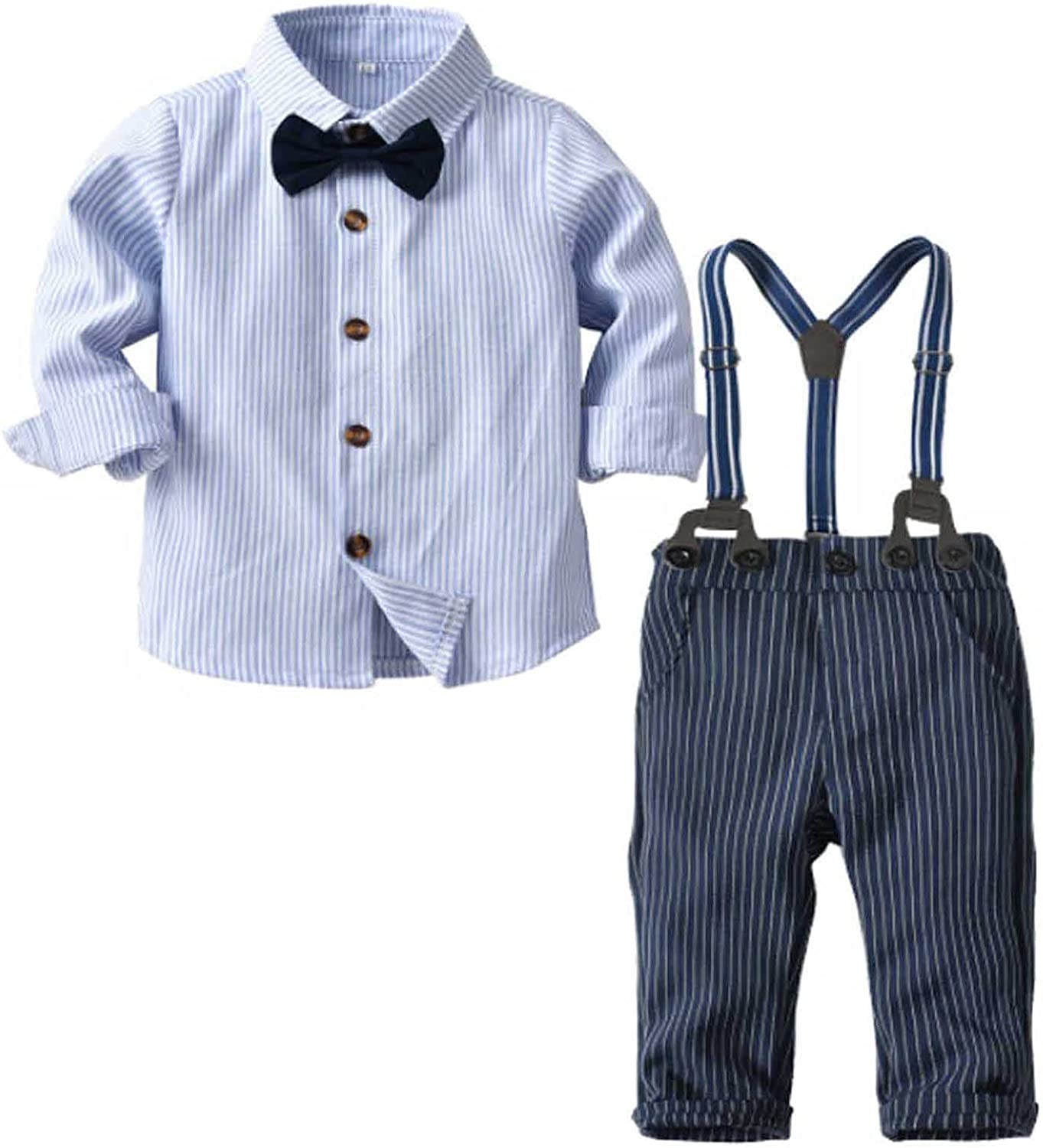2Piece Toddler Brand new Baby Boys Gentleman Outfits Bow S Long Tie Manufacturer direct delivery Suits