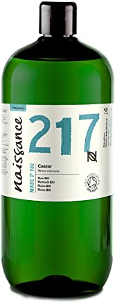 Naissance Huile de Ricin BIO (n° 217) Pressée à froid - 1 litre – 100% pure, certifiée BIO, vegan, sans hexane, sans OGM