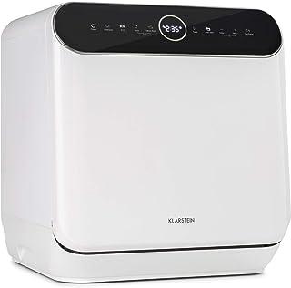 KLARSTEIN Oceana - mini lave-vaisselle de table, CEE A, 125 kWh/an, 2 couverts, pose libre, sans installation, lavage 360...