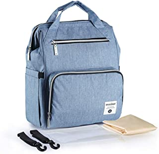 Backpack Mummy Bag Large Capacity, Multifunctional mom Bag, Waterproof Backpack for Mother and Baby, Pregnant Woman Bag St...