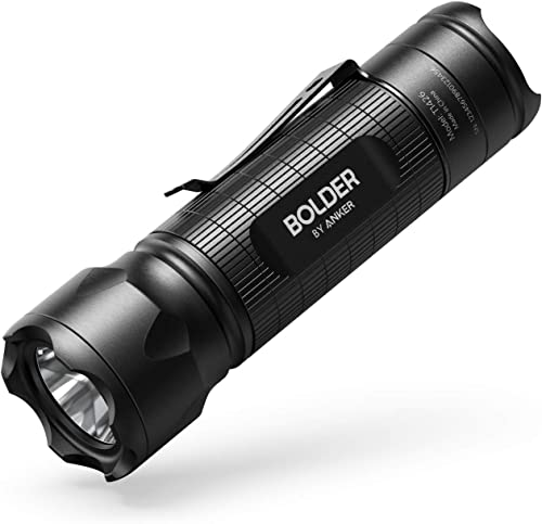 lowest Anker online Bolder LC30 Flashlight, LED Torch, Super Bright 300 Lumens CREE LED, IPX5 Water Resistant, 3 Modes High/Low/Strobe, new arrival Pocket Sized outlet sale