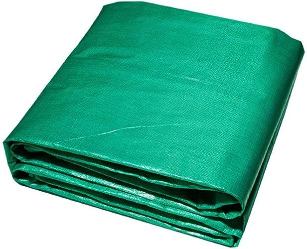 HRFHLHY Tissu Enduit De PVC De Bache Imperméable, Boutonnière Facile à Plier Le Tissu De Film Isolant De Bache De Polyéthylène PE,6Mx12m
