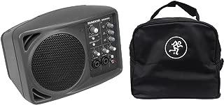 Mackie SRM150 Powered Active PA Monitor Speaker & SRM 150 Travel Bag