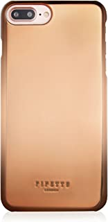 iPhone 7 Plus Case Pipetto Magnetic iPhone Shell Case for iPhone 6/6S/7 Plus (Compatible With Magnetic Car Holder) - Rose Gold