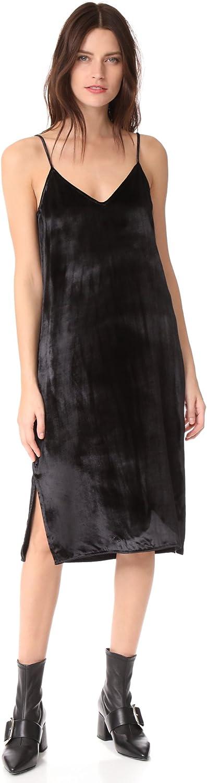 Equipment Femme Womens Silk Blend Cocktail Slip Dress