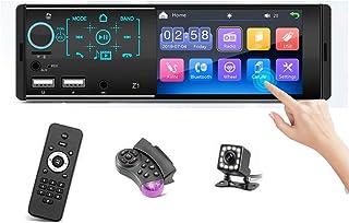 Single Din Bluetooth Car Stereo - 4.1 inches LCD Touch Screen Car Radio/Audio MP3/MP5 AM/FM/RDS Radio Receiver USB/SD/Micr...