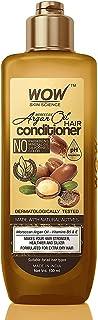 WOW Skin Science Moroccan Argan Oil Conditioner - No Sulphates, Parabens, Silicones, Salt & Colour, 100 ml