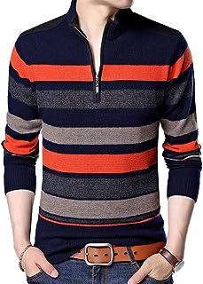 c1fe2cd5f575 Suéter De Punto De Los Hombres Ropa De Primavera Y Otoño Manga Larga Casual  Jersey De