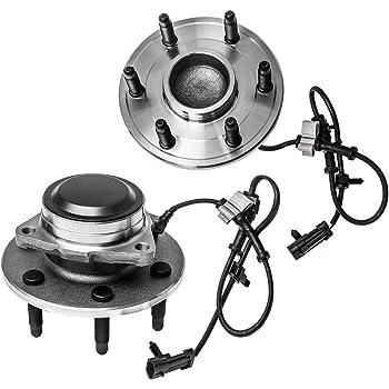 PAIR 2WD Front Wheel Hub Bearing Assembly FIT 2002-2006 CADILLAC Escalade