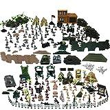 deAO Soldati in Battaglia Forze Armate unità di Difesa Militare Figura di Azione da Collezione Soldati, Veicoli e Accessori più di 303 Pezzi Totale