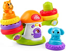 XQW Cartoon Stack & Balance Teeter Totter, Multicolor Stacking Toys, Educational Activity Toys Suitable for Ages 3, 4,...