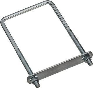 National Hardware N222-406 2192 Square U Bolts (Zinc plated), #677-3/8