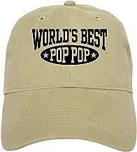 CafePress World's Best Pop Pop Cap Baseball Cap