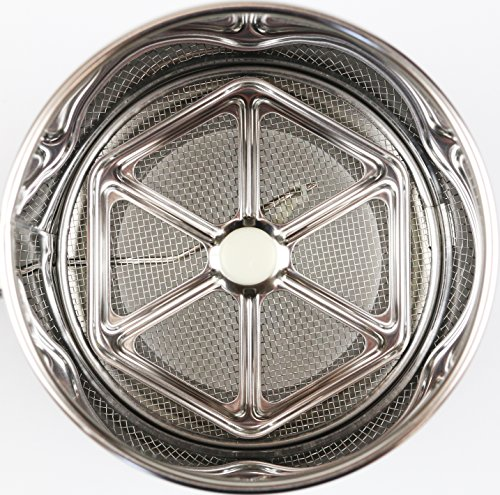 パール金属ラフィネステンレス製自動粉ふるいM【日本製】D-6192